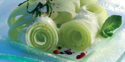 Salade De Concombres Aux Baies Roses 2000