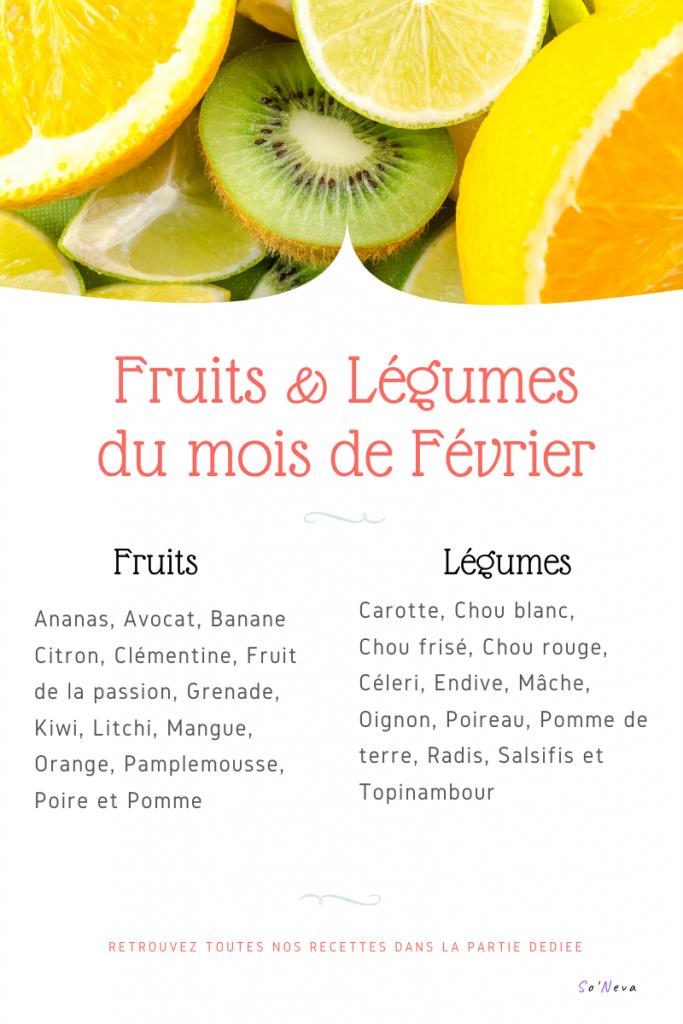 fruits legumes février